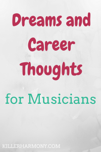 Killer Harmony | Is Blogging My Career? | Graduating college has made me really think about what I want out of my career. Is blogging for me? Is music for me? Here are my thoughts.